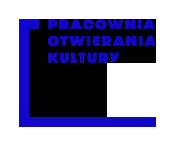 Logotyp Pracowni Otwierania Kultury